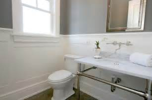 Best Paint Color For Bathroom Vanity by Dark Gray Wainscoting Design Ideas
