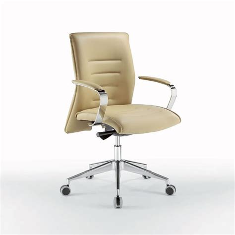 task chair for office chromed metal with wheels idfdesign