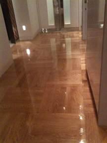 prime oak sealed high gloss varnish west end flooring masters