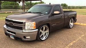 2008 Chevy Silverado 6  8 Dropped On 24 In Intro Flow