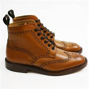 Burford Loake Brogue Boots