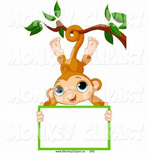 Cute Hanging Monkey Clipart | Clipart Panda - Free Clipart ...