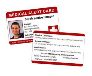 Medical Alert ID Card