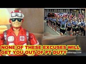 Bad PT Excuses - Action Figure Therapy - YouTube