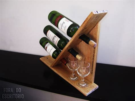 how to make a wine rack out of a pallet wine rack for 3 bottles out of pallet wood