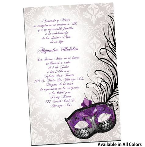 17 Best images about invitaciones xv on Pinterest