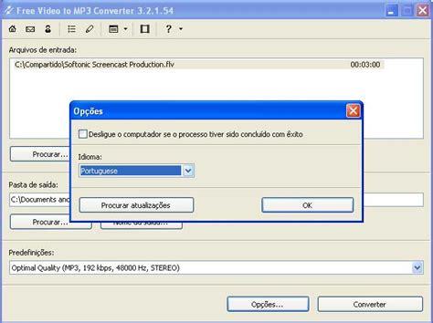 baixar gratis free video to mp3 converter