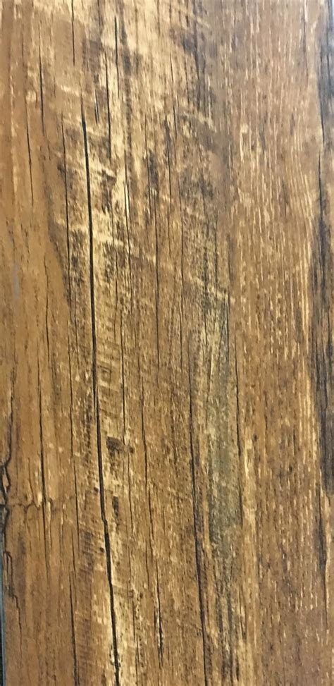 Handscraped Wood Click Lock Vinyl Plank WATERPROOF