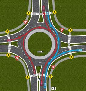 Two-Lane Roundabout Rules