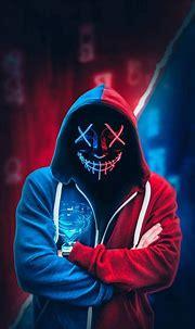 Download Mask Neon Boy wallpaper by AmazingWalls - 11 ...