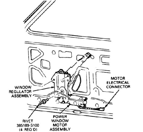 1995 Ford Ranger Wiring Diagram Vs by Power Windows And Locks Installation For An 85 Ranger By
