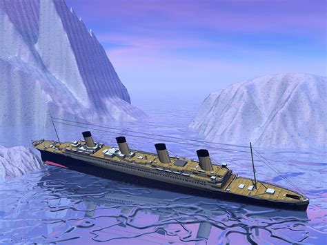 Sinking Big Boats by Page From Original Titanic Insurance Policy Sells At
