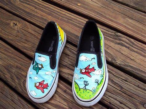 gorgeous hand painted shoe sneaker ideas diy