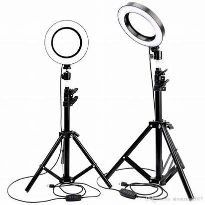 Studio Camera Ring Led Dimmable Tripod Selfie