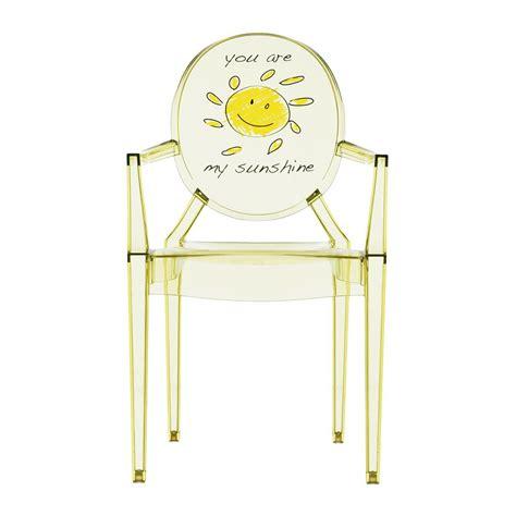 chaise fantome acheter kartell chaise fantôme lou lou pour enfant