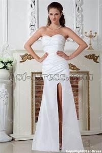 beach casual wedding dresses ivory bridesmaid dresses With ivory casual wedding dresses