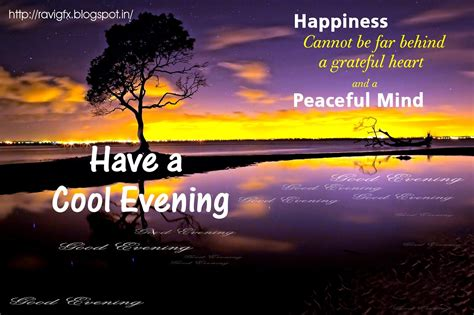 Gud Evening Quotes For Fb