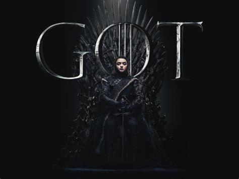 arya stark game  thrones season  poster