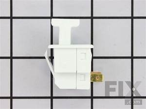 Oem General Electric Refrigerator Light Switch  Wr23x10725