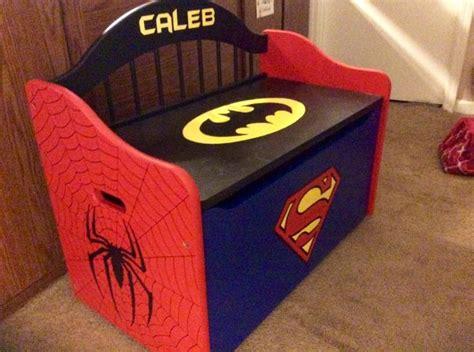 super hero toy box hand painted  facebookcom