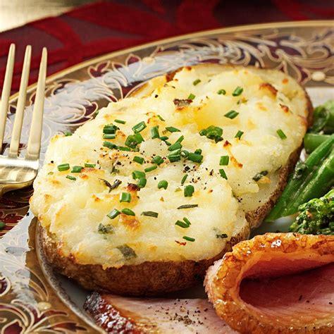 cheese stuffed  baked potatoes recipe