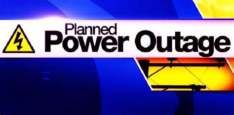 rotwnewscom power outage planned