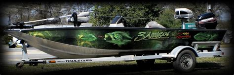 Boat Wraps Atlanta Ga by Aaa Signcrafters