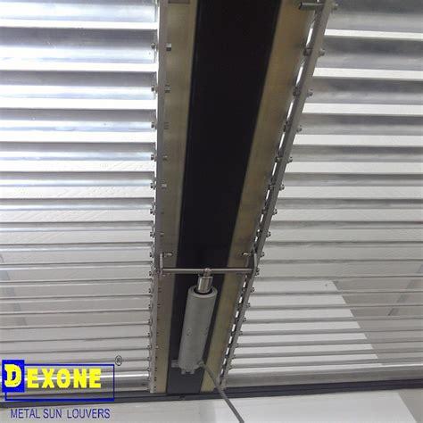 dx af motorized louversun louversmetal ceiling