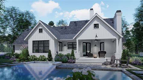 house plans cottage house plan with 3 bedrooms and 2 5 baths plan 7377
