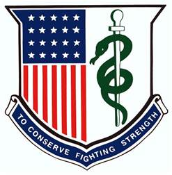 Army Medical Regimental Corps Crest