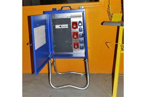 Coffret électrique De Chantier  Armoire De Distribution