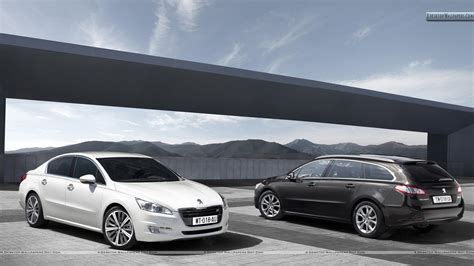 peugeot saloon 2011 peugeot 508 saloon and 508 sw wallpaper