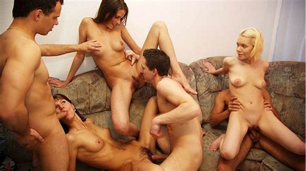 #Cool #Nude #Party #Video #With #Hot #Group #Fucking