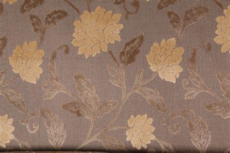 robert allen cartier flower velvet patterned upholstery