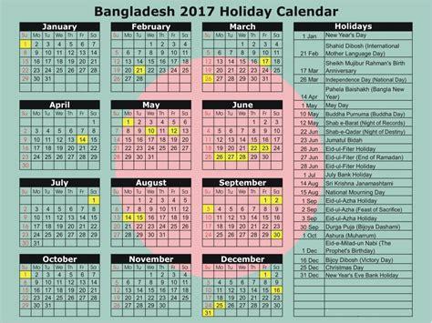 publicnational holiday calendar bangladesh