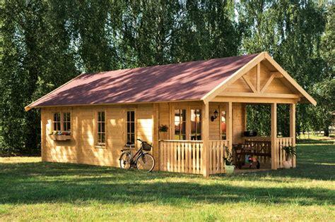 Gartenhaus Skanholz «toronto» 45mmwochenendhausholzhaus