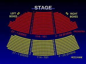 Eugene O Neill Seating Chart Music Box Theatre 3 D Broadway Seating Chart History
