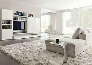 Moderne Wohnzimmer Teppiche : modernes wohnzimmer 95 einrichtungsideen und tipps ~ Sanjose-hotels-ca.com Haus und Dekorationen