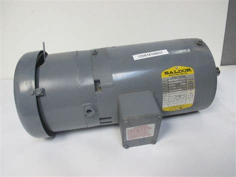 baldor vbmt   hp electric brake motor   ph