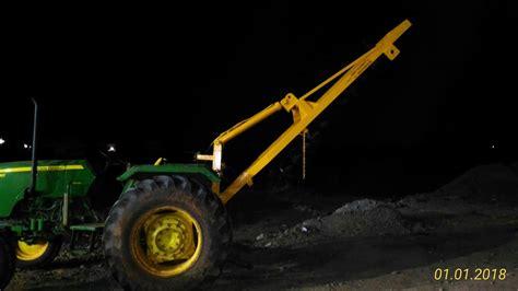 augur  piling works post hole digger sugarcane harvester tractor forklift panmixer rafi