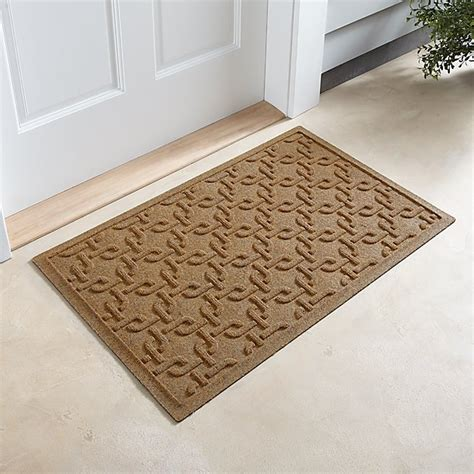 Crate And Barrel Doormat by Thirsty Links Flax Doormat Crate And Barrel