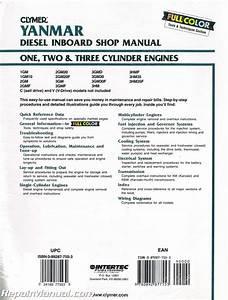 Yanmar Diesel Inboard Boat Engine Shop Manual  U2013 One  Two