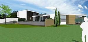 Maison Bioclimatique Passive : architecte maison villa contemporaine bbc passive bepos standing ~ Melissatoandfro.com Idées de Décoration