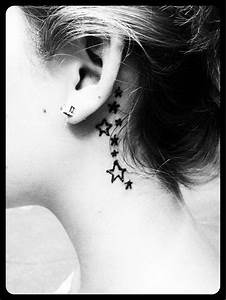70 Pretty Behind the Ear Tattoos - For Creative Juice