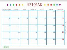 Kalendarz i planer DO DRUKU partymika