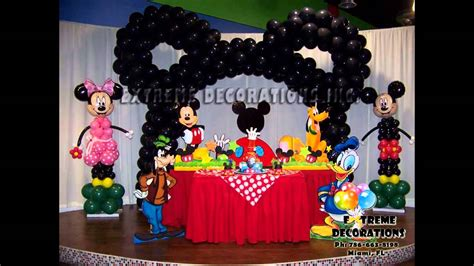 mickey mouse clubhouse birthday party decoration