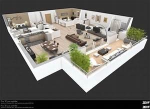 Maison Plan 3d Simple Pretentious Design Ideas D House