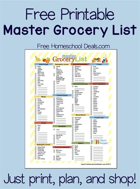 grocery list template free search results for printable walmart grocery list calendar 2015