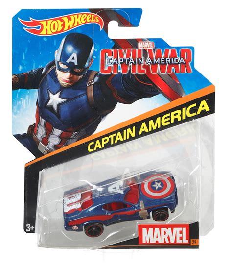 Hot Wheels® Marvel™ Captain America Civil War  Shop Hot