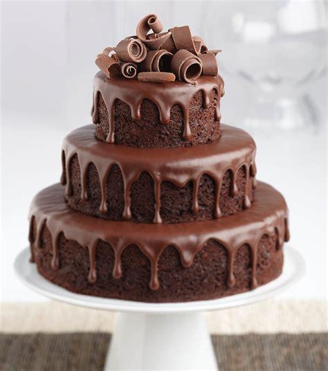 chocolate ganache tiered cake joann